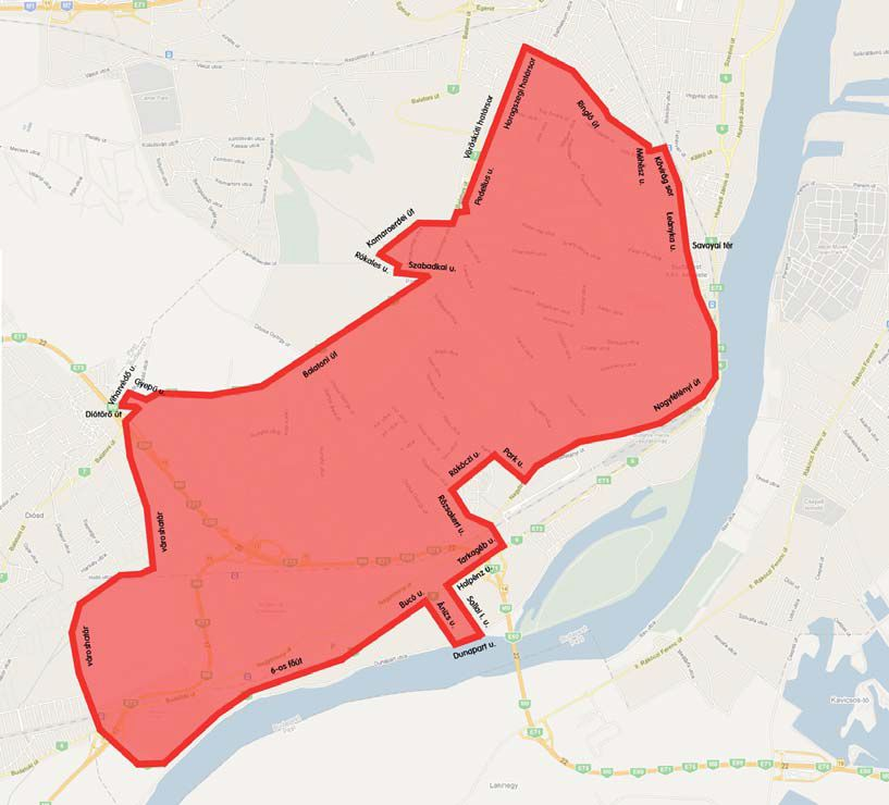 budapest térkép 22 kerület Indul a zöldhulladék gyűjtés a 2014 es szezonban | budapest térkép 22 kerület